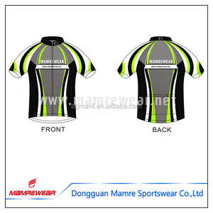 Athletic cycling gear designs custom sports clothing team warm ups cycling shirts