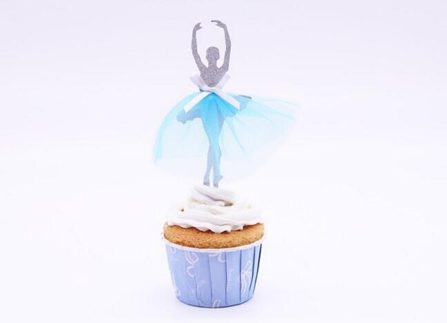 ballet girl cake topper picks for wedding party - Wholesale Cake Decorating Supplies