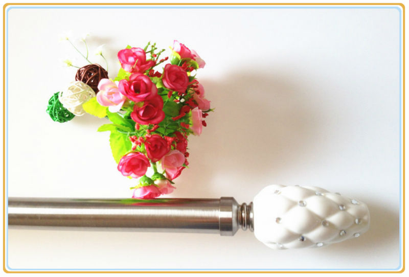 3 Inch Curtain Rod - Rooms