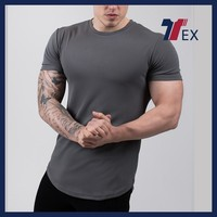 Men's apparel dry fit sport fitnessgym tshirt from athletic apparel manufacturers