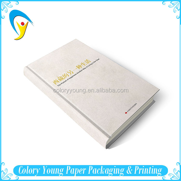 Customized Printed Cheap Thick Hardcover Book With Offset Printing