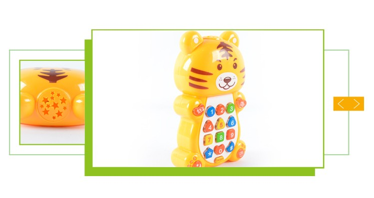 Hot sale high quality mobile phone electronic baby learning toys