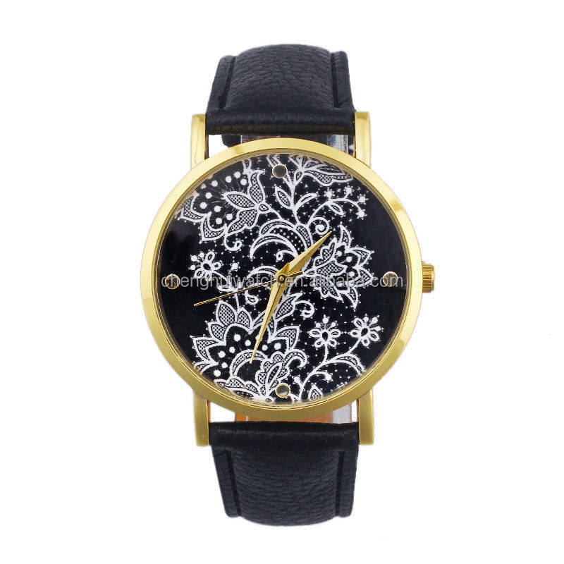 Beautiful Paradise Fashion Geneva China Style kirigami Watches for Women Quartz Dress Wrist Watch