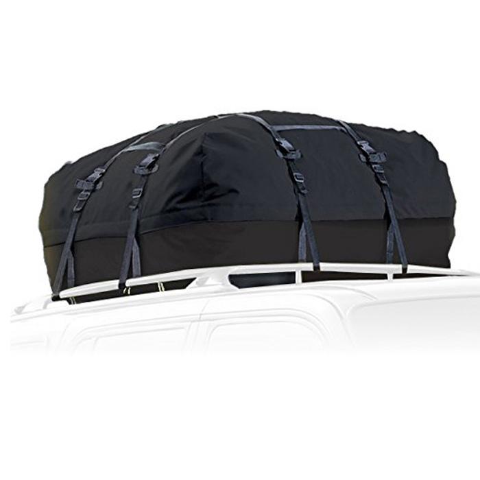 Waterproof Hitch Cargo Carrier Rack Bag Expandable Car Top
