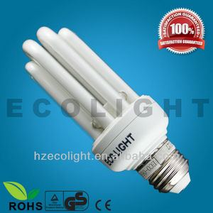 4u esl glass T3 energy saving lamp e14/e27/b22 t3 cfl