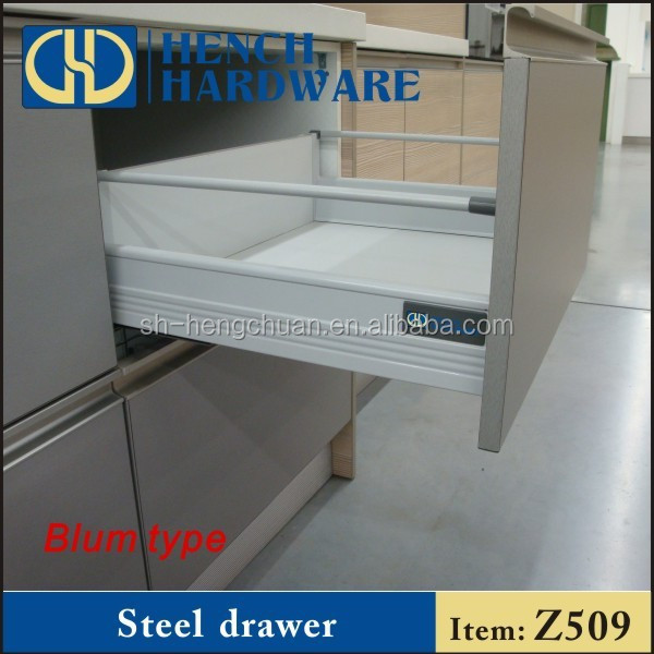 Damping Blum Steel Drawer Tandem Box