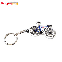 Oem custom souvenir soft pvc bike shape keychain,pvc rubber key chain,high quality silicone key rings