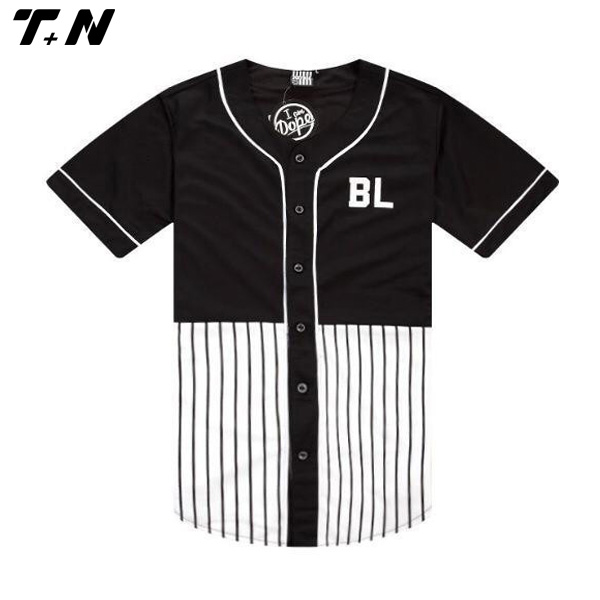 06b3a528798 Pinstripe Stripe Blank Custom Baseball Jerseys Wholesale - Buy Blank ...