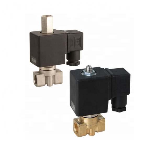 High Pressure Solenoid Valve Normally Closed DN15 200BAR DC12