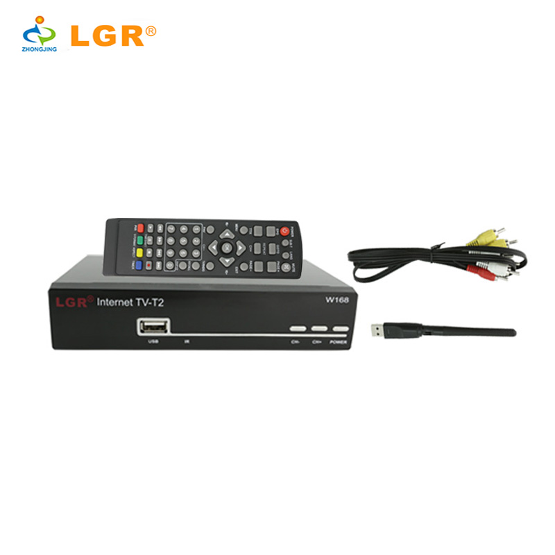 manufacture T2 digital terrestrial receiver digital with WiFi USB