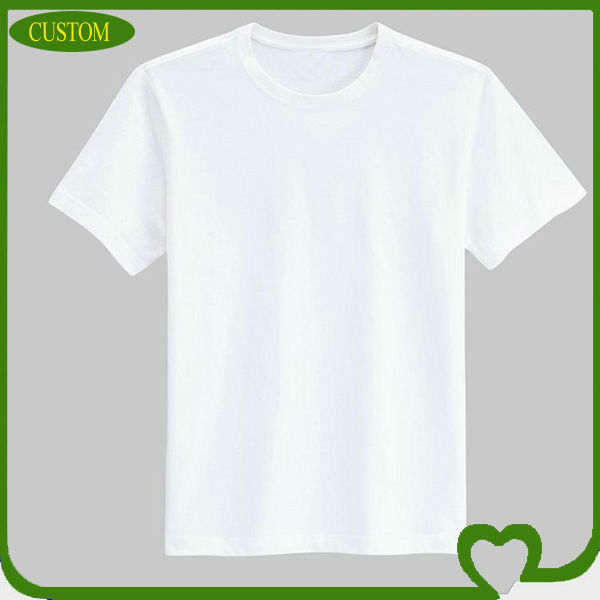 The 100% Cotton Pure White T Shirts