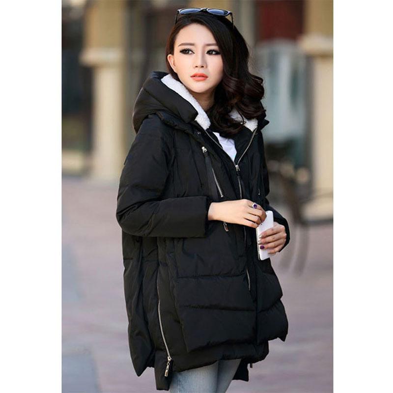 Пуховик, тёплый зима пальто верхняя одежда искусственный мех Lining женское куртки куртка шинель Roupas женщина одежда Chaquetas mujer. Z006