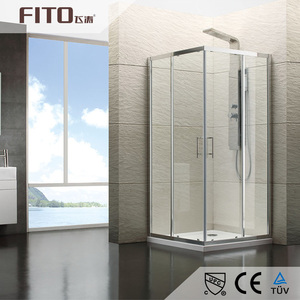 China Factory Wholesale Shower Enclosure Easy Clean Glass Shower Room