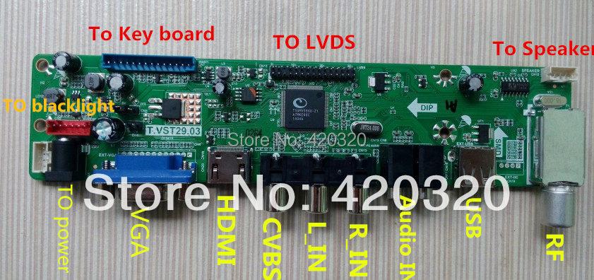 Jk T Vst590 31 V59 Chip Hdtv Driver Board Controller Board