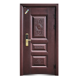 Copper colour Security Steel door from China
