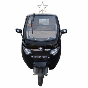 China manufacturer passenger tricycle 3 wheel gas taxi
