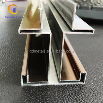Custom-made stainless steel edge decorative accessories, metal decorative strips.