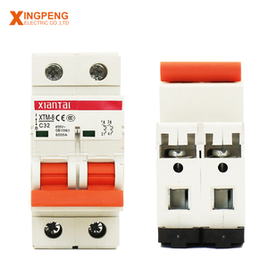 XTM-8 2 Pole mcb 50 60 HZ 380V safe miniature circuit breaker 63a