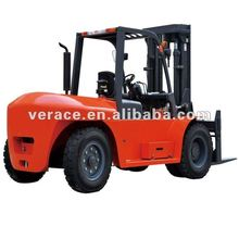 FD100 10Ton Diesel Container ForkLift Truck Factory