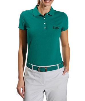 a8a2c026 green color female latest office uniform design ladies plus size custom  made sports 5xl polo golf
