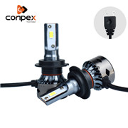 Conpex 2019 Ultimo Disegno 45W 9000LM Hight Power 9005 H1H3 H4 H13 Ha Condotto il Faro Lampadine Kit di Conversione