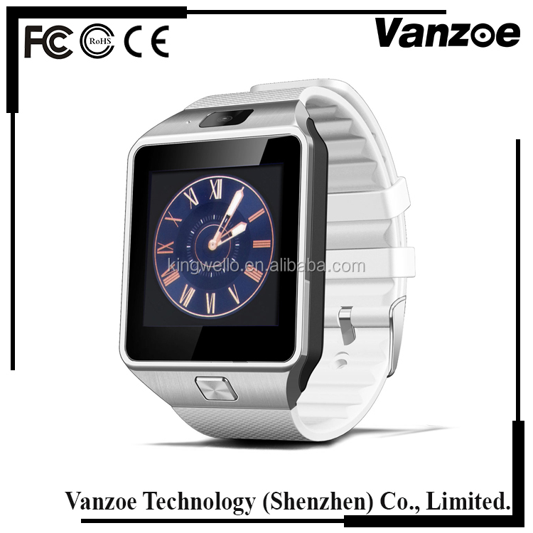 Factory direct selling colorful dz09 smart watch with camera hot selling products in china