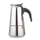 wholesale 4 cups stainless steel cafetera espresso coffee maker