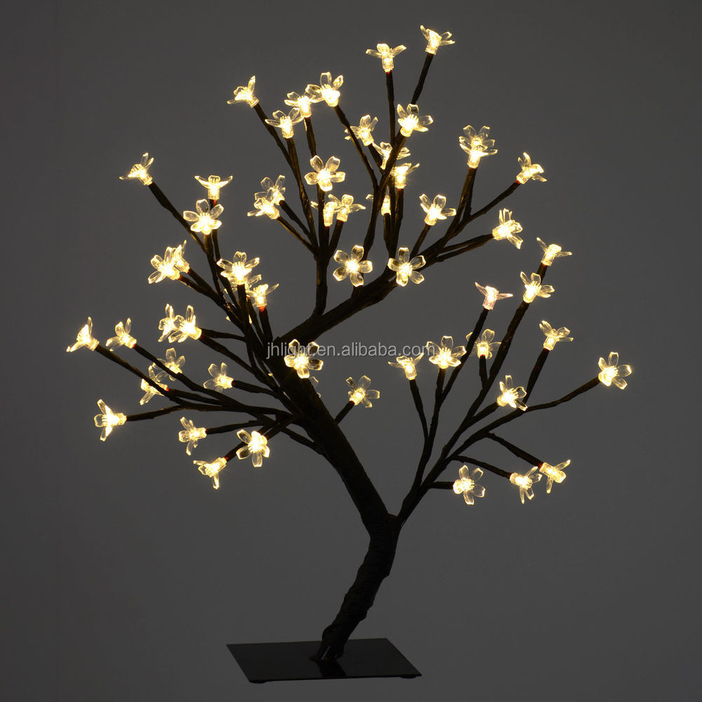 2015 indoor led wedding decorate tree led cherry blossom for Decor lights