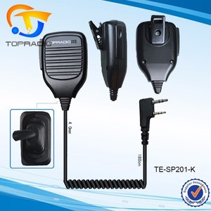 Walkie Talkie Speaker Mic For Baofeng UV-5R BF-888S BFF8-PLUS BF-F9 BFK5 BF-V6 PX-777 TK3207 TK2207 Walkie Talkie Speaker Mic
