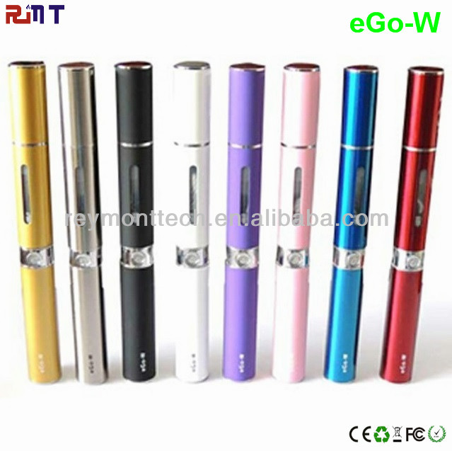 Flat mouthpiece ego W electronic cigarette accept paypal