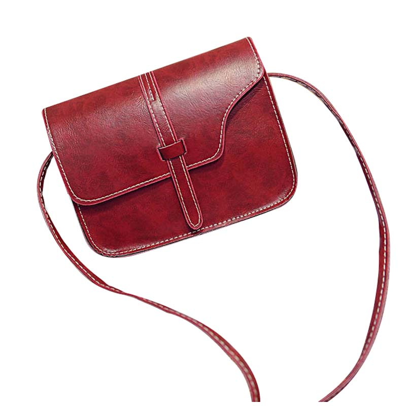 d258a366f85 Compare Prices on Red Satchel Handbags- Online Shopping Buy Low ...  FGGS-Women Faux Leather Messenger Shoulder Bags Girl Crossbody Tote ...