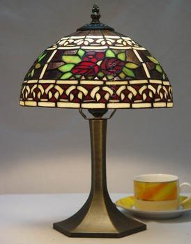 Bon 10inch Wide Rose Tiffany Handmade Table Lamp   Buy Table Lamp,Tiffany Table  Lamp,Handmade Table Lamp Product On Alibaba.com