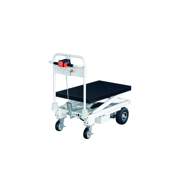 Handling machine cooperate pallet electric table truck