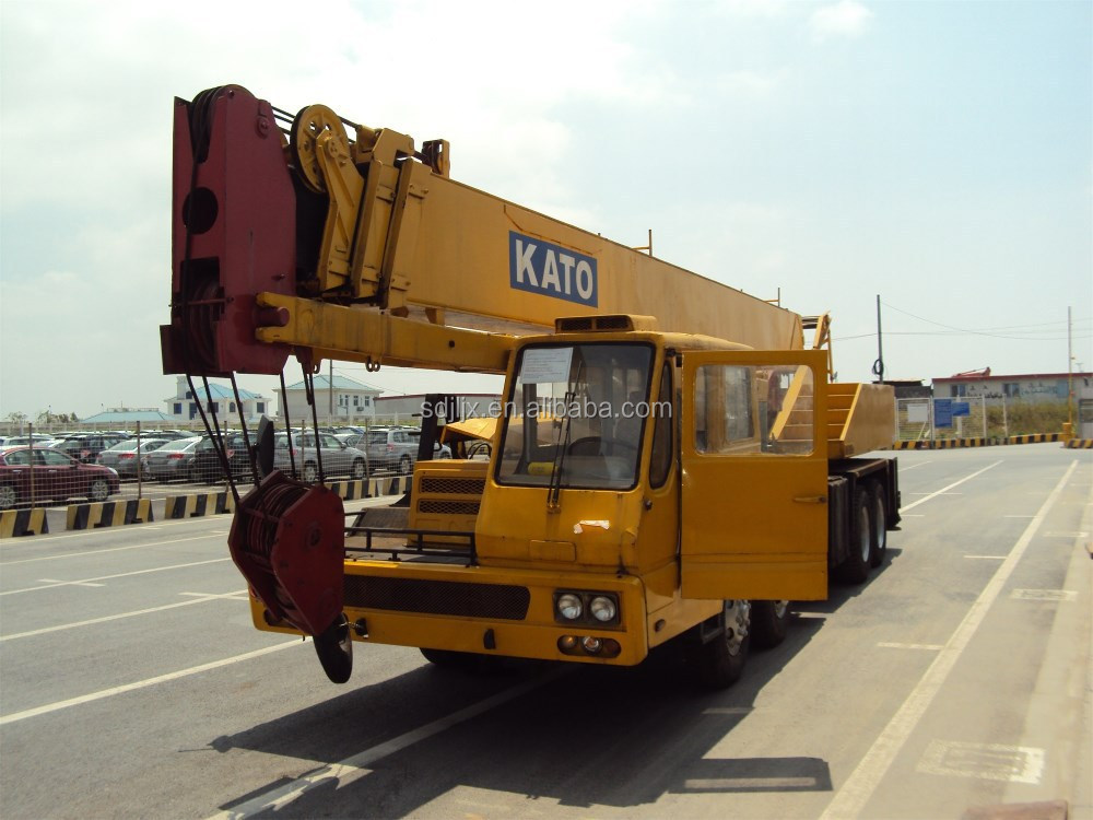 Used Engineering And Construction Machinery Japan Kato Crane 30ton ...