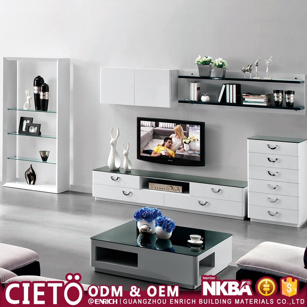 living room cabinets modern design wooden tv table units image