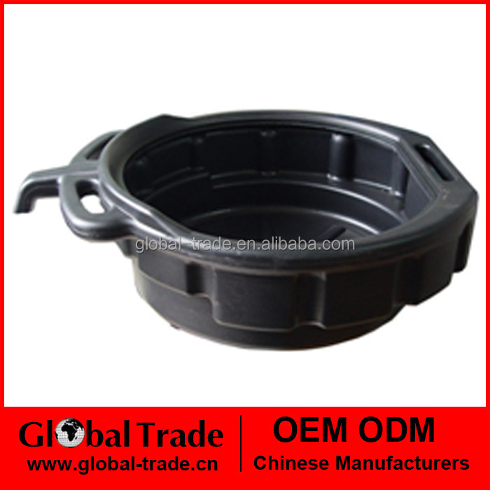 10L Oil / Coolant / Fuel Drain Pan Tray Capacity Bucket Under Car Van Tool A0460