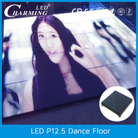 acrylic advertising signs led dance floor rechargeable
