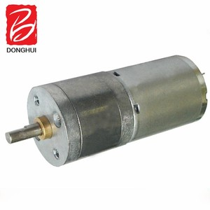 high torque 12v mini slow rotating gear motor good price