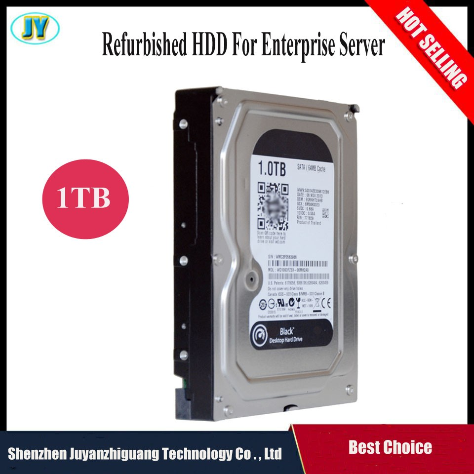 [Hot selling] Brand HDD 3.5inch 7200rpm second hand hard disk internal harddisk 1TB for Server