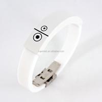 lucky bracelet Bluetooth notification bracelet silica gel hand belt (WT-16)
