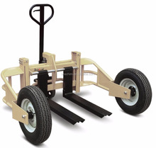 Hot selling 1T All Rough Terrain Manual Hydraulic Lifting Hand Pallet Truck