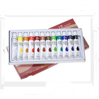 Multi-surface Craft 12 Pieces Art Primary Acrylic Paint