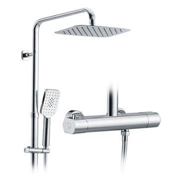Himark Thermostatic Bathroom Faucet Shower Set View Bathroom