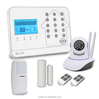 2018 New WIFI GSM PSTN Alarm System For Home Alarm With IP Camera