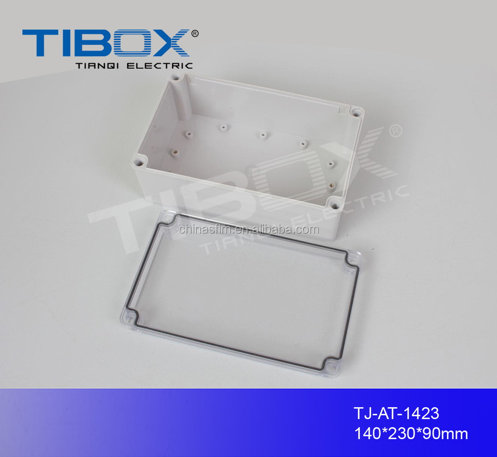 handheld small ip65 transparent waterproof plastic enclosure