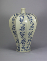 new design blue and white chinese vase