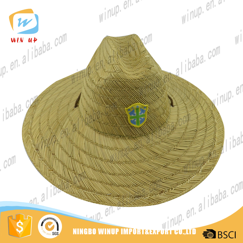 wholesale new style sombrero paper hat 100% handsome vase straw hat