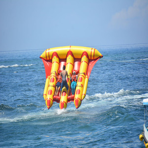 Inflatable Water Toys Water Flying Fish Inflatable Water Banana Boat Multi-seat Park Amusement Equipment