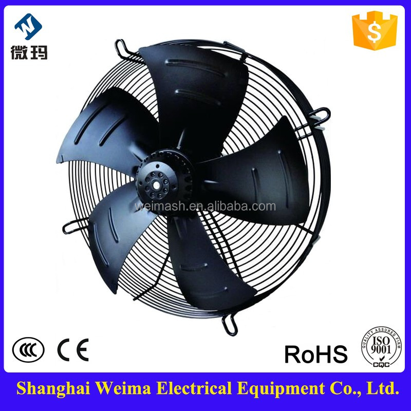 Energy saving 450mm Convenient Installation Refrigerator Axial Fans