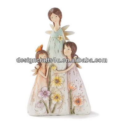 Mother's Day Holiday Souvenir Baby Figurine with Mother